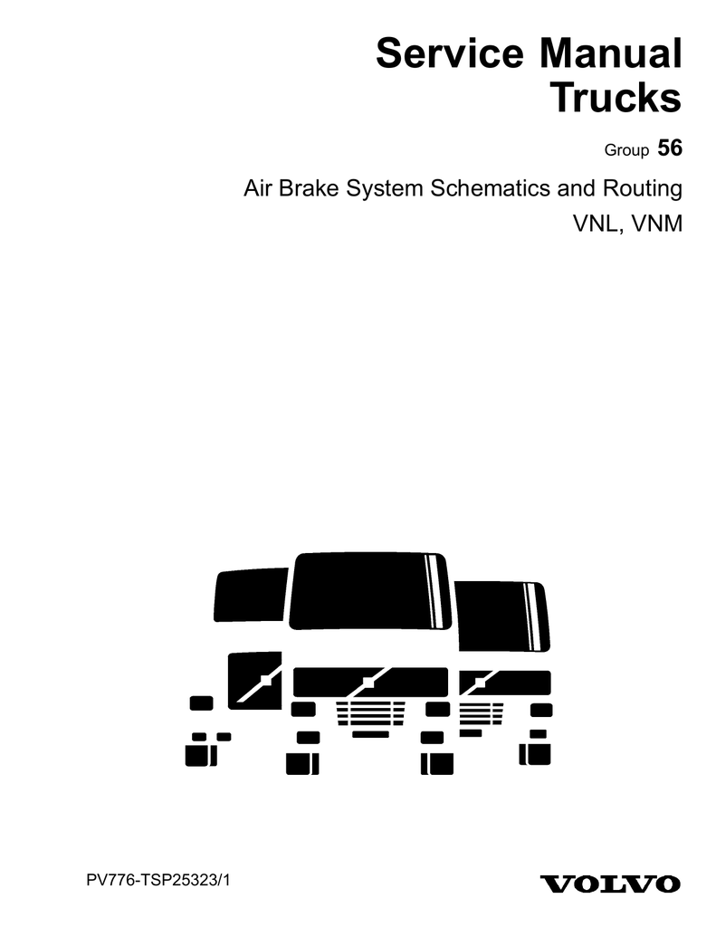 hight resolution of air brake system schematic and routing