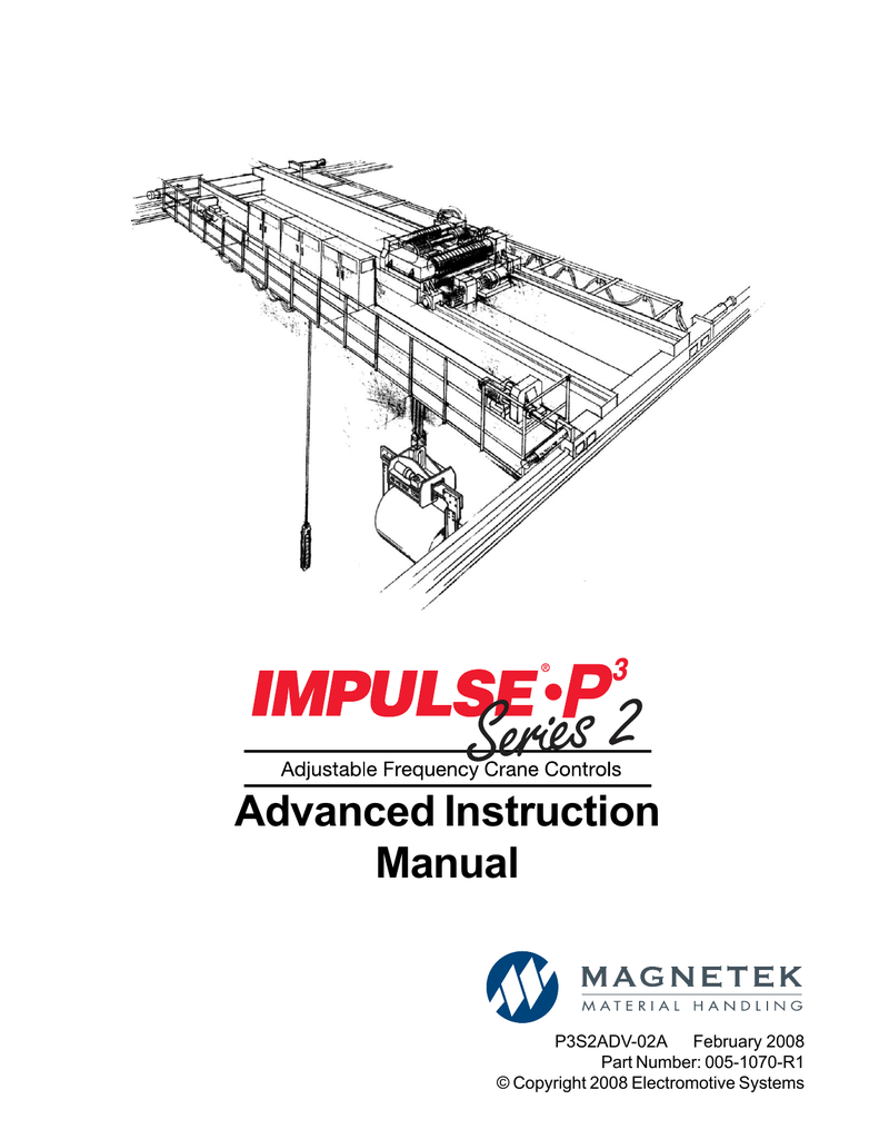 MPULSE P3 Series 2 Advanced Instruction Manual #005-1070