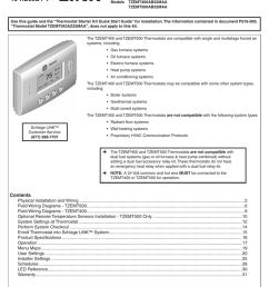 schlage link tzemt500 trane thermostat installation manual [ 791 x 1024 Pixel ]
