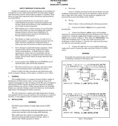 headlight flasher fhl2 sc manualzz com headlight flasher wiring diagram headlight flasher fhl2 [ 791 x 1024 Pixel ]