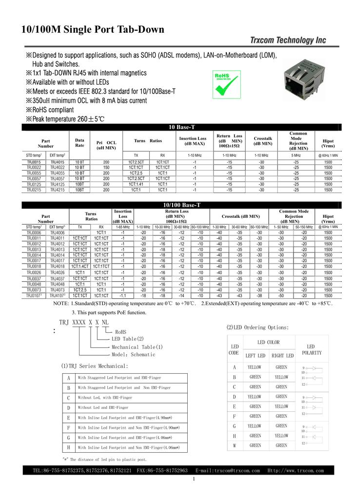 http://microchip.ua/trxcom/rj45/10m&100m single port tab