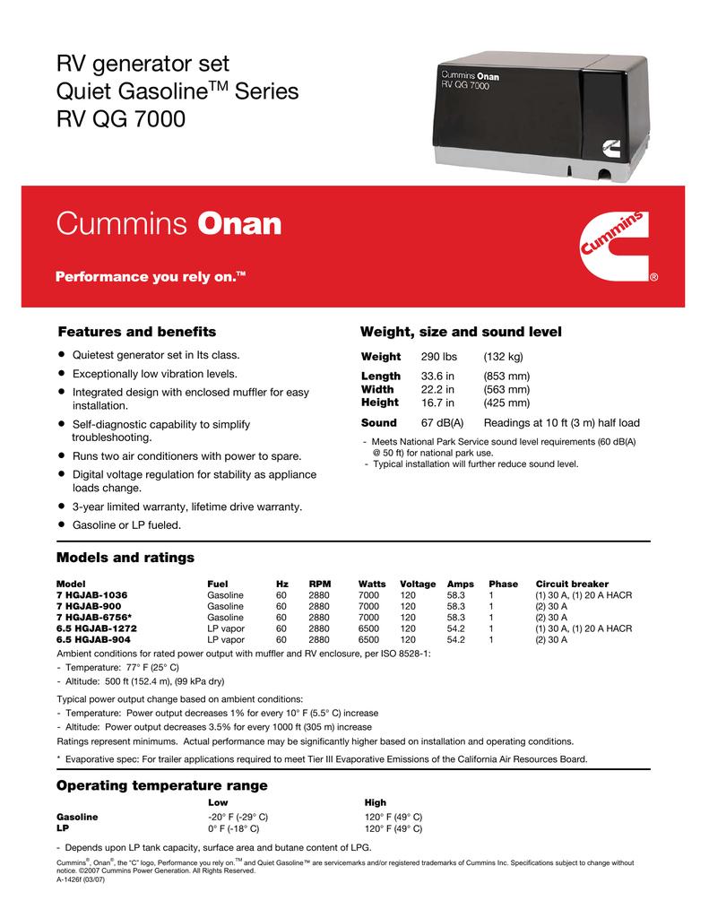 hight resolution of  array rvqg7000 specsheet manualzz com rh manualzz com