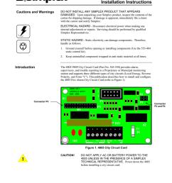 simplex 4005 city circuit card installation manual rev a manualzz com [ 791 x 1024 Pixel ]