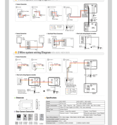kocom kcv a372 d372 and a374 main catalogue page 4 system cabling and setup click here [ 791 x 1024 Pixel ]