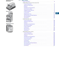Eaton Cn35 Lighting Contactor Wiring Diagram Led Downlight Cutler Hammer Contactors Manualzz Com