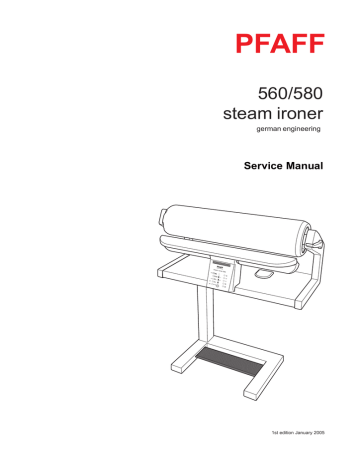 Service Manual for Reliable Verve 100SR, Singer and Pfaff
