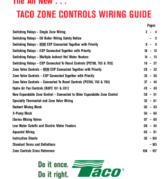 taco wiring guide manualzz comtaco wiring guide [ 791 x 1024 Pixel ]