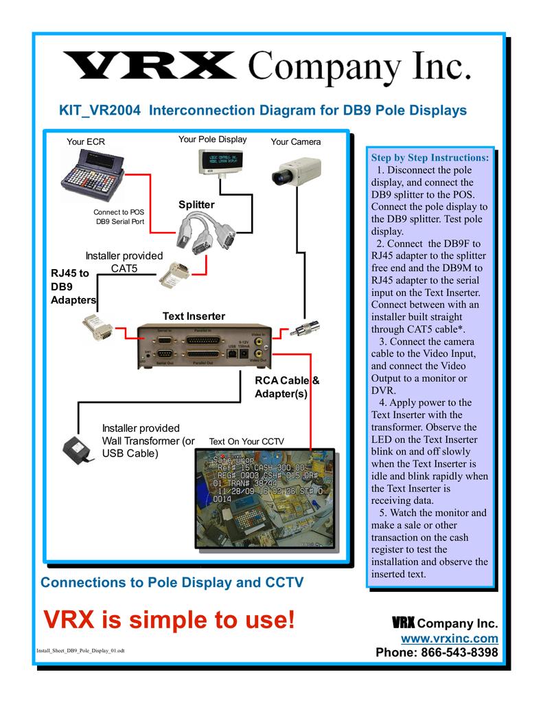 medium resolution of install sheet db9 pole displa