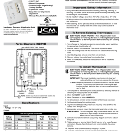 sc710v specifications non programmable fan coil thermostat 110 277 vac manual changeover controls single stage heating cooling systems 3 speed fan  [ 791 x 1024 Pixel ]