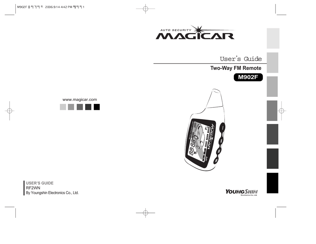 MAGICAR MANUAL PDF