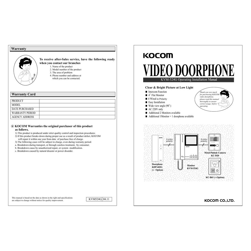 hight resolution of kvm 524g manual