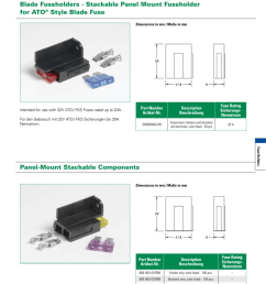 blade fuseholders stackable panel mount fuseholder for ato style blade fuse [ 789 x 1024 Pixel ]