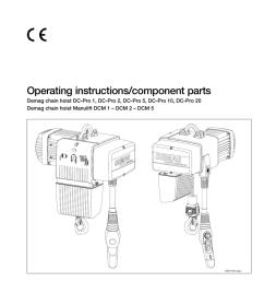 electricchainhoist dc pro and manualzz com demag dc pro 1 125 hoist wiring diagram [ 791 x 1024 Pixel ]
