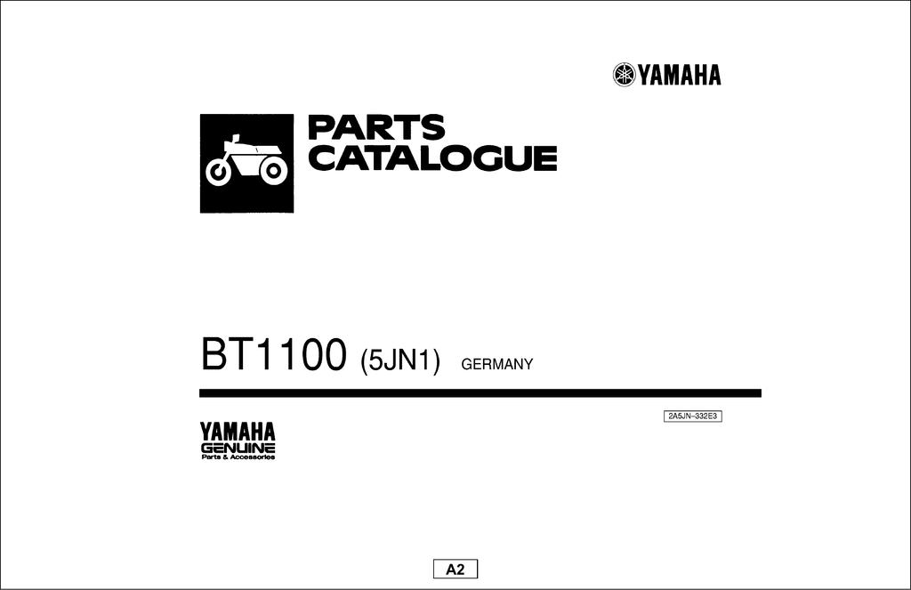 PARTS CATALOGUE BT1100 2002 (Каталог запчастей BT1100 2002
