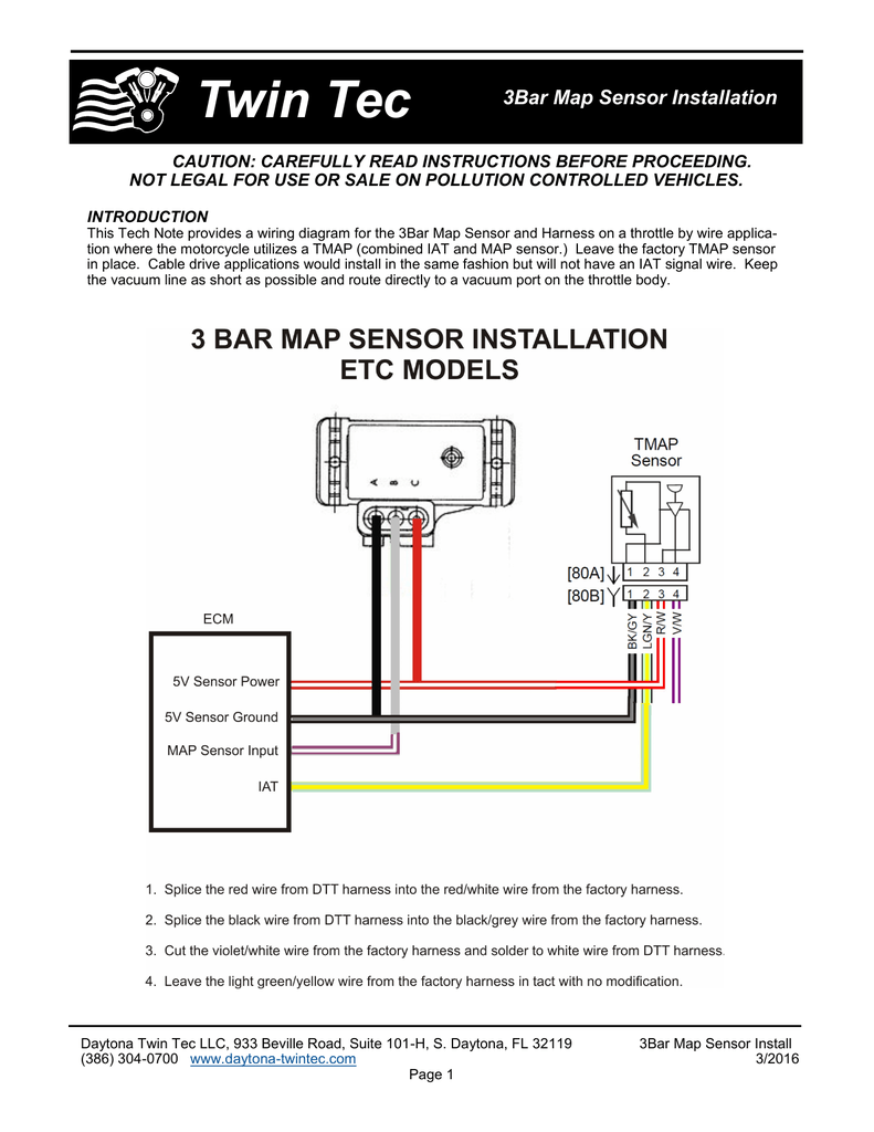 medium resolution of 3bar map sensor wiring diagram