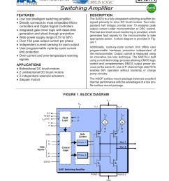 datasheet for sa57ahu by apex microtechnology [ 791 x 1024 Pixel ]