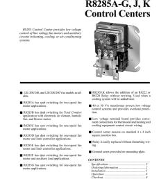 r8285a g j k control centers [ 791 x 1024 Pixel ]