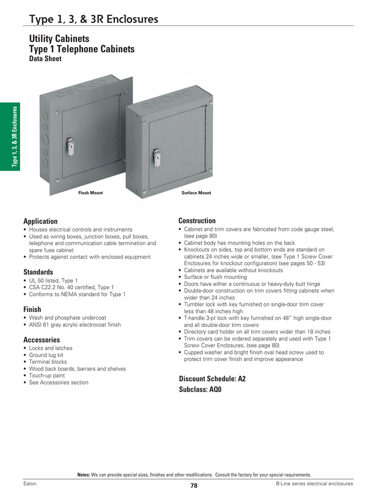 hight resolution of utility cabinets type 1 telephone