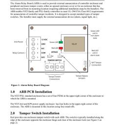 alarm relay board installation guide alarm relay board installation guide alarm relay  [ 791 x 1024 Pixel ]