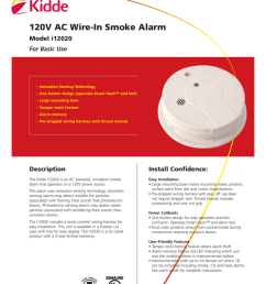 120v ac wire in smoke alarm model i12020 for basic use [ 791 x 1024 Pixel ]
