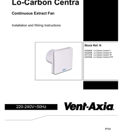 lo carbon centra continuous extract fan installation and wiring instructions [ 791 x 1024 Pixel ]