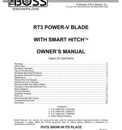 rt3 power v blade w smarthitch owner u0027s manual manualzz comrt3 power v blade w [ 791 x 1024 Pixel ]