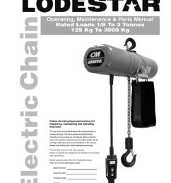 cm lodestar hoist wiring diagram on lodestar nh electric chain hoist manualzz com on  [ 791 x 1024 Pixel ]