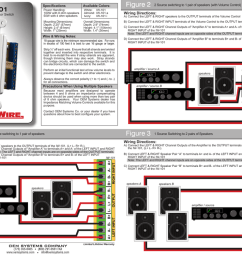 oem systems iw 101 pro wire speaker switch plate manual  [ 1024 x 791 Pixel ]