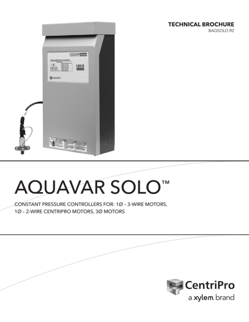 small resolution of goulds aquavar solo constant pressure controller