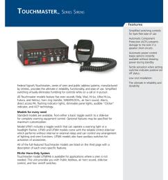 touchmaster data sheet [ 791 x 1024 Pixel ]