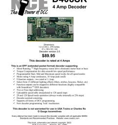 d408sr manualzz com on pmi wiring diagram lionel wiring diagram mth wiring  [ 791 x 1024 Pixel ]