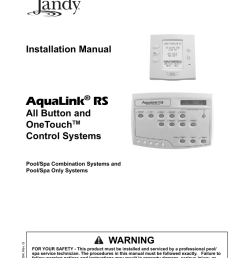 click here to view the jandy installation manual [ 791 x 1024 Pixel ]
