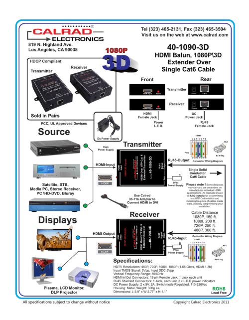 small resolution of cat6 hdmi wiring diagram