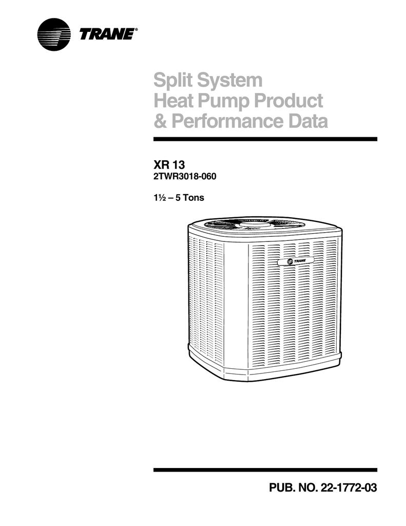 [DIAGRAM] Trane Xr13 Wiring Diagram FULL Version HD