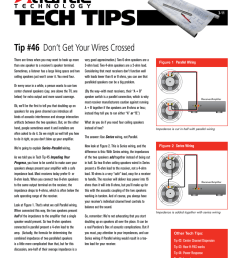 tech tip 46 don t get your wires crossed [ 791 x 1024 Pixel ]
