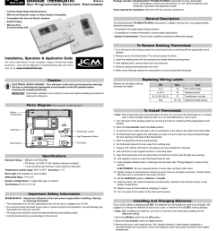 garage thermostat fs1500l fs1500vl general description non programmable electronic thermostat [ 884 x 1024 Pixel ]