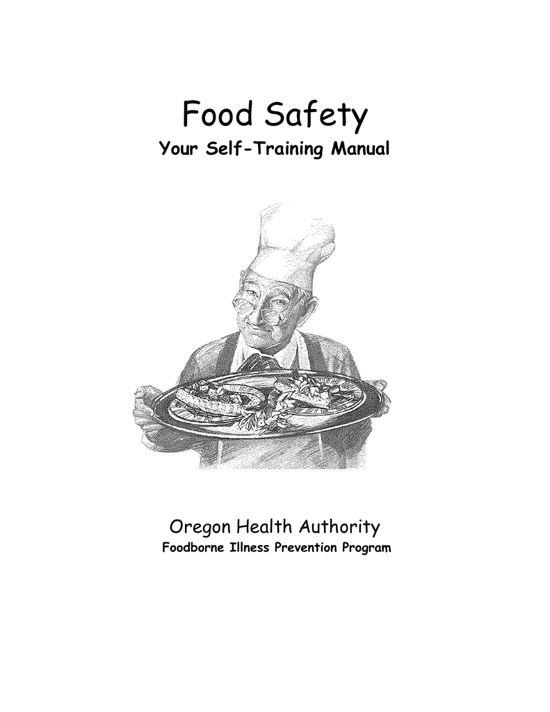 Food Safety Your Self-Training Manual Oregon Health