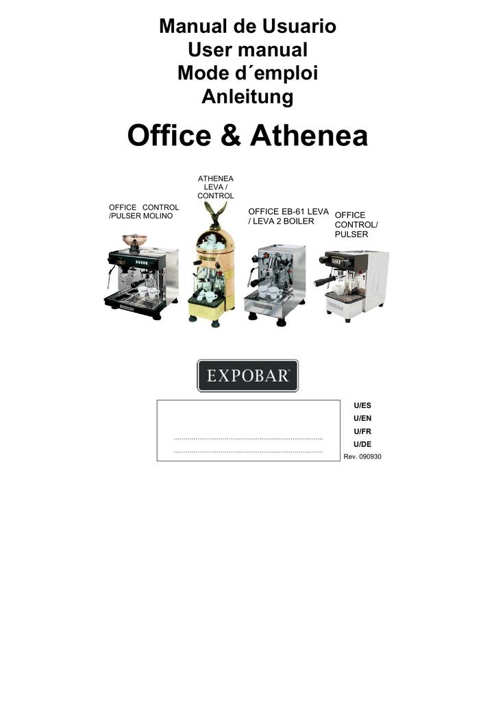 Office & Athenea Manual de Usuario User manual Mode d