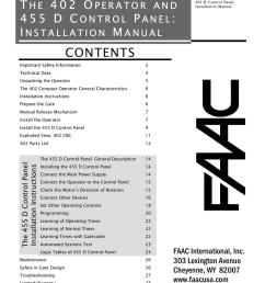 faac 402 cbc swing gate operator parts diagram [ 791 x 1024 Pixel ]