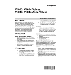 wiring 3zone with honeywell l8148j honeywell v8043e and low waterpdf operation instructions manualzz com wiring 3zone [ 791 x 1024 Pixel ]