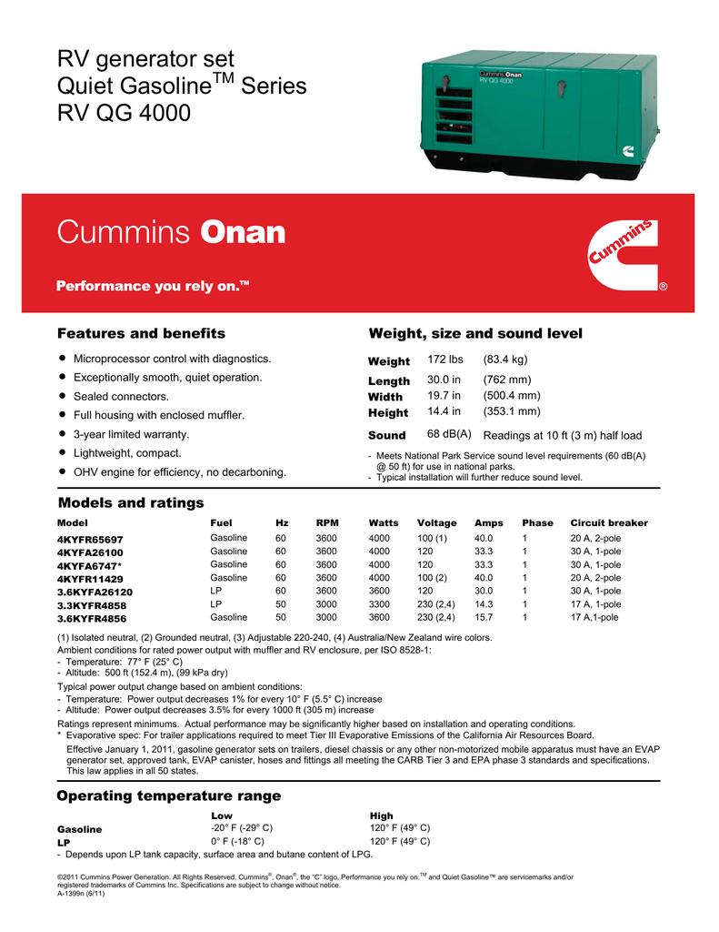 hight resolution of cummins onan rv qg 4000 manual