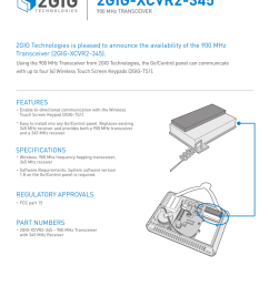 using the 900 mhz transceiver from 2gig technologies the go control panel can communicate with  [ 791 x 1024 Pixel ]
