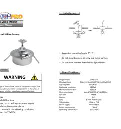 digital video camera sku fs35 fire sprinkler w hidden camera user s manual [ 1024 x 791 Pixel ]