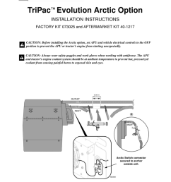 tripac evolution arctic option installation instructions [ 791 x 1024 Pixel ]