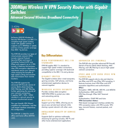 300mbps wireless n vpn security router with gigabit switches evr100 [ 791 x 1024 Pixel ]
