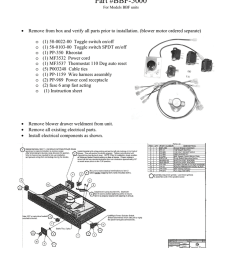 bbf 5000 electrical replacement kit [ 791 x 1024 Pixel ]
