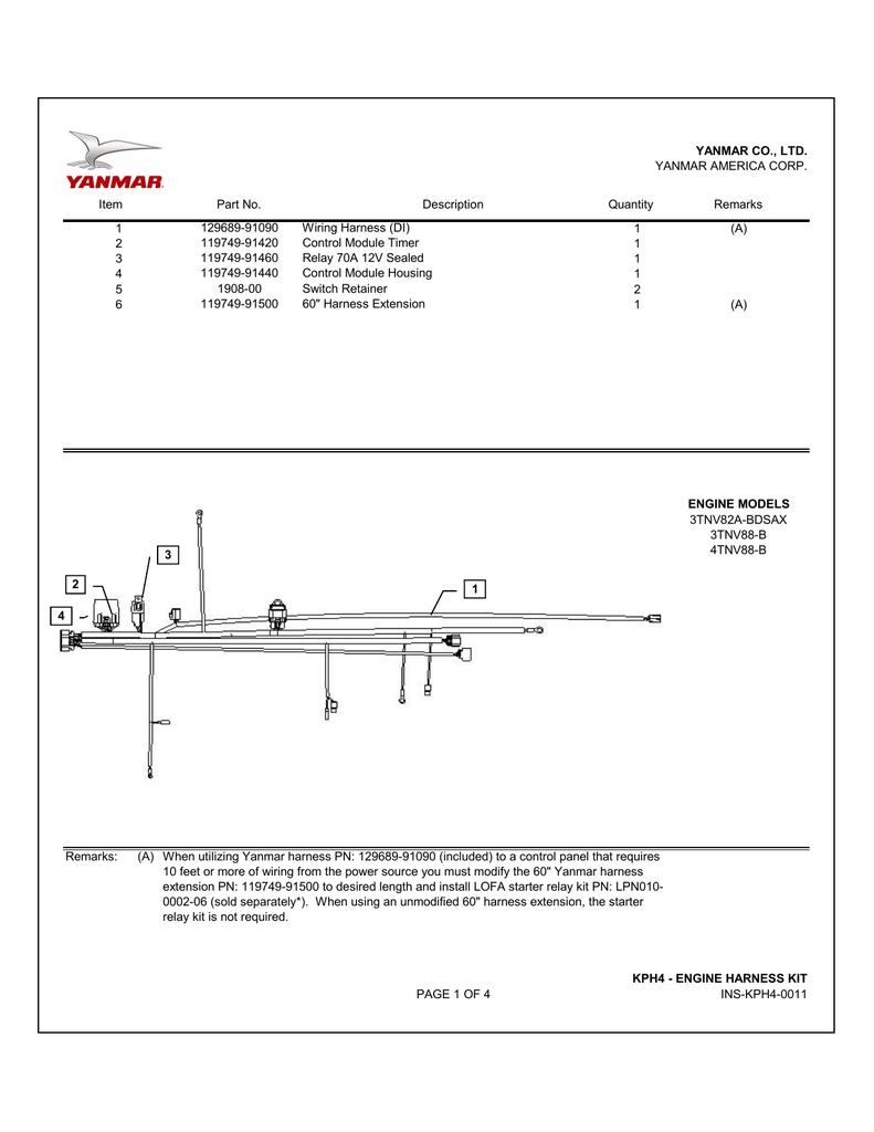 hight resolution of  yanmar electrical diagram ins kph4 0011 manualzz com on yanmar alternator yanmar starter motor