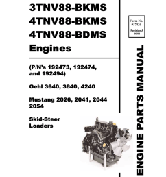 wiring diagram engine skid loader yanmar 3640 3840 4240 manualzz com on wisconsin  [ 791 x 1024 Pixel ]