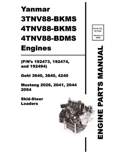 small resolution of  wiring diagram engine skid loader yanmar 3640 3840 4240 manualzz com on wisconsin