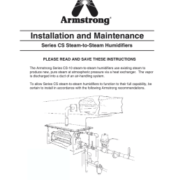 armstrong cs 15 humidifier owners manual [ 791 x 1024 Pixel ]